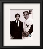 Phil Rizzuto / Yogi Berra Framed Photographic Print