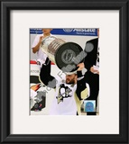 Sergei Gonchar Game 7 - 2008-09 NHL Stanley Cup Finals With Trophy Framed Photographic Print
