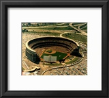Shea Stadium - Arial View Framed Photographic Print
