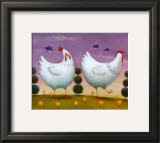 Funky Chickens Prints by Rob Scotton
