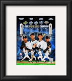 "New York Yankees 2009 ""Core 4"" Framed Photographic Print"