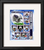 2010 Tennessee Titans Team Composite Framed Photographic Print