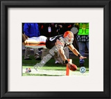 Peyton Hillis 2010 Action Framed Photographic Print