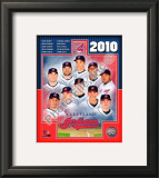 2010 Cleveland Indians Team Framed Photographic Print