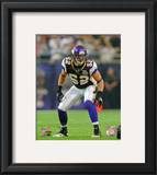 Chad Greenway 2010 Action Framed Photographic Print