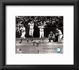 Carlton Fisk Multi Exposure Framed Photographic Print