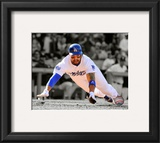 Matt Kemp 2010 Spotlight Action Framed Photographic Print