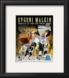 Evgeni Malkin 2008-09 Stanley Cup Finals Conn Smythe Trophy Winner Framed Photographic Print