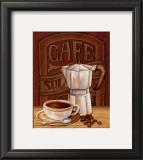 Cafe Mundo I Posters by Charlene Audrey