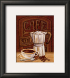 Cafe Mundo I Wall Art by Charlene Audrey