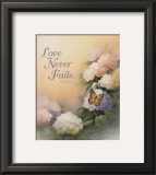 Love Never Fails Prints by T. C. Chiu