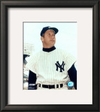 Mickey Mantle - 9 Waist Up Framed Photographic Print