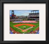 Coors Field 2010 Opening Day Framed Photographic Print