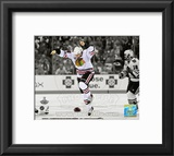 Patrick Kane Game Six of the 2010 Stanley Cup Finals Spotlight 62 Framed Photographic Print