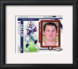 Jason Witten 2010 Studio Plus Framed Photographic Print