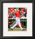 Jay Bruce 2010 Framed Photographic Print