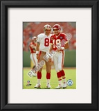 Steve Young / Joe Montana Framed Photographic Print