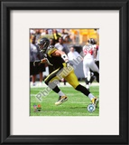 James Farrior 2010 Action Framed Photographic Print