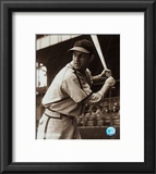 Stan Musial -Batting stance, posed sepia Framed Photographic Print