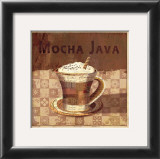 Mocha Java Art by Linda Maron