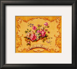 Cafe des Roses Prints by Catherine Jones