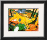 Gelbe Kuh, c.1911 Prints by Franz Marc