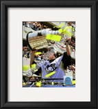 Marc-Andre Fleury 2009 Stanley Cup Champions Victory Parade Framed Photographic Print
