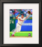 Chase Utley 2010 Framed Photographic Print