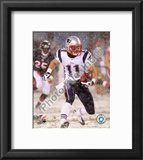 Julian Edelman 2010 Action Framed Photographic Print