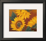 Sunflowers II Prints by Vivien Rhyan