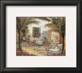 Courtyard Ambiance Posters by Ruane Manning