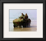 LAV-25 Light Armored Vehicle United States Marine Corps Framed Photographic Print
