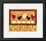 Eggs in a Row Posters by Dan Dipaolo