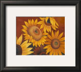 Sunflowers I Poster by Vivien Rhyan