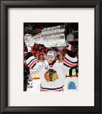 Antti Niemi with the 2009-10 Stanley Cup Framed Photographic Print