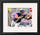 Haloti Ngata 2010 Action Framed Photographic Print