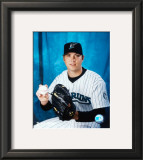 Josh Beckett - Studio Portrait Framed Photographic Print