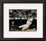 Ichiro Suzuki 2010 Spotlight Action Framed Photographic Print