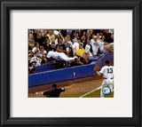 Derek Jeter - '04 Head First Dive Framed Photographic Print