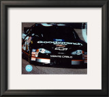 Dale Earnhardt Car Shot - Front View Framed Photographic Print