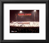 Foxboro Stadium - Last Game Overlay Framed Photographic Print