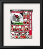 2010 Arizona Cardinals Team Composite Framed Photographic Print