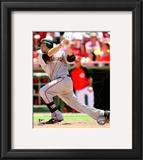 Freddy Sanchez 2010 Action Framed Photographic Print
