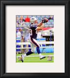 Wes Welker 2010 Action Framed Photographic Print