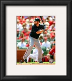 Brian McCann 2010 Action Framed Photographic Print