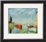 Barche Sportive Prints by Claude Monet