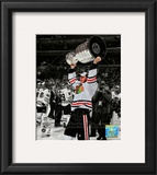 Jonathan Toews Game Six of the 2010 Stanley Cup Finals Spotlight 61 Framed Photographic Print