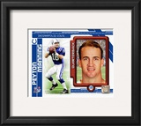 Peyton Manning 2010 Studio Plus Framed Photographic Print