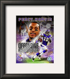 Percy Harvin Offensive Rookie Of The Year Framed Photographic Print