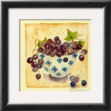Blue Grapes Prints by Alie Kruse-Kolk